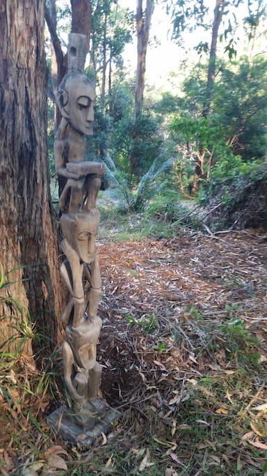 A Polynesian figure of abundance