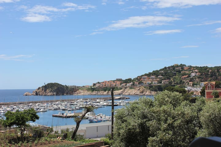 Delightful apartment, marina views, walk to beach - Sant Feliu de Guíxols - Apartment