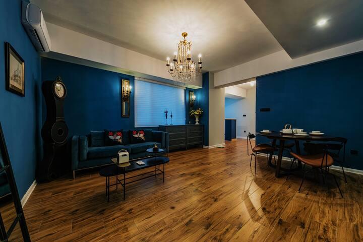 艺术家的投影浴缸三居室/近五一广场,上下杭,三坊七巷