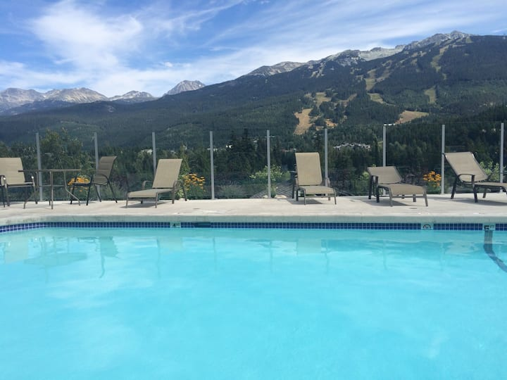 STUNNING VIEWS  BEST Pool Hot Tub in Whistler!