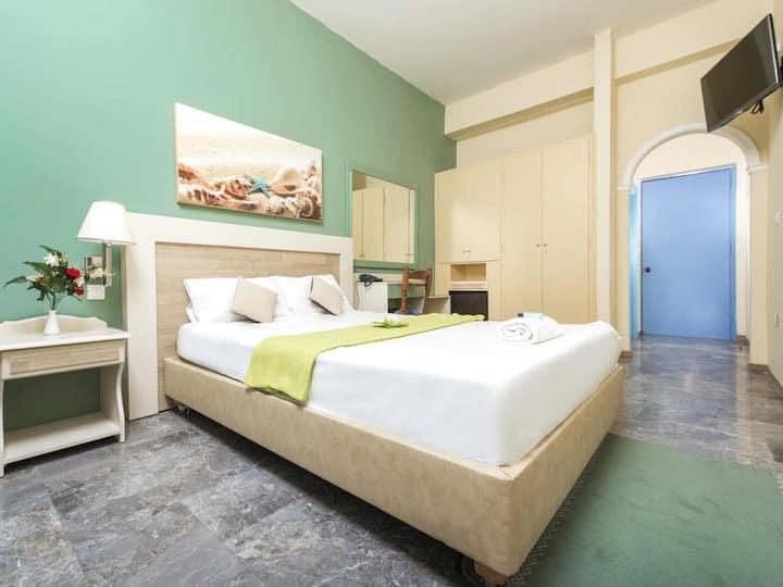 Single room, Potamaki Beach Hotel by the Sea