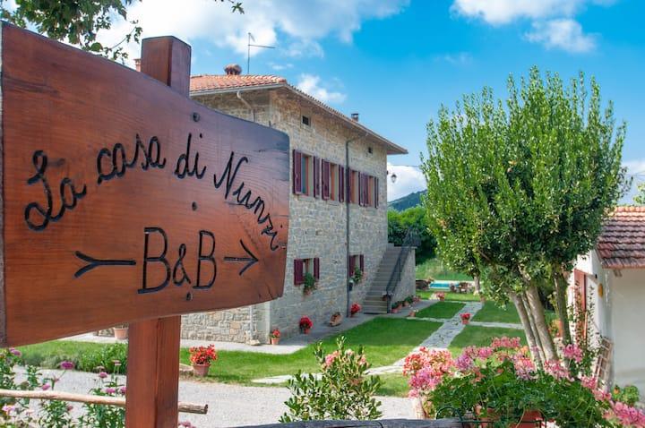 Quiet countryside Holiday House near Cortona