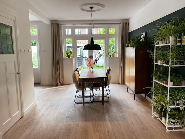 Delightfully renovated 1930s house for plantlovers