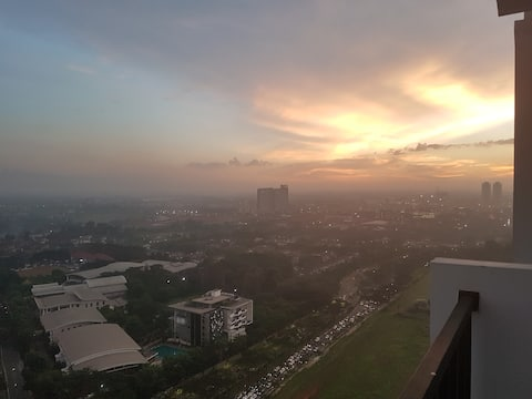 Private Stay & Relax Apartment at TreePark BSD (2)