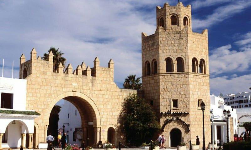 Bungalow vue sur Port El Kantaoui - Hammam Sousse - Wohnung