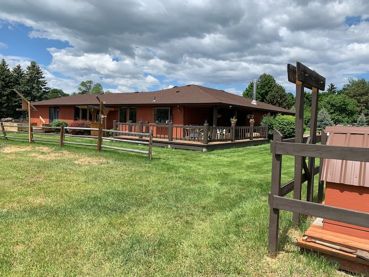 Family Friendly Farm House