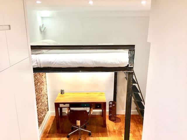 UPSCALE LUXURY LOFT IN MADRID CENTER-  ALMAGRO