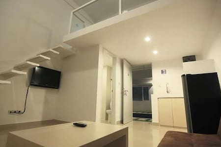Loft apartement in between Kerobokan (Seminyak) and Denpasar. Easy access, traffic jam free, lots of shop and food stall.
