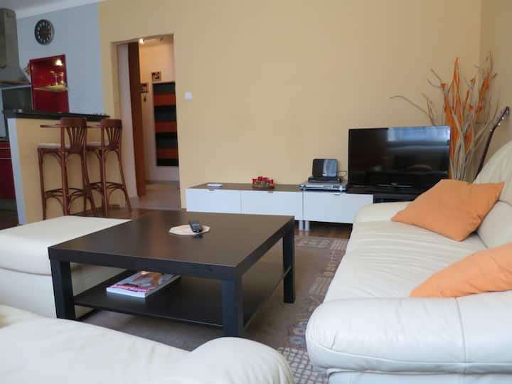 Spacious 1 bedroom apartment (40m2) suitable for 2