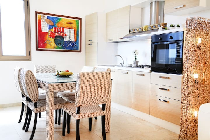CASA  50mt da MARE,3Km da GALLIPOLI - Lido Conchiglie - Apartamento