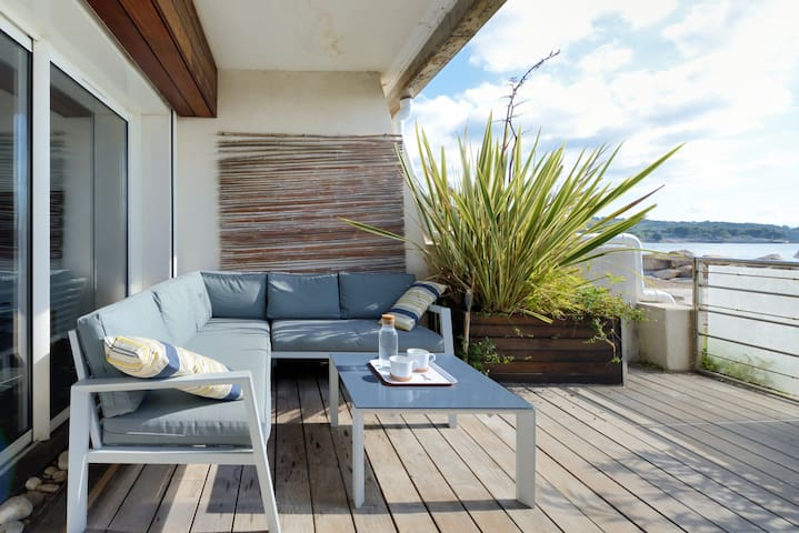 Appartement incroyable, accès direct mer