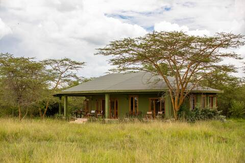 Chui House,  private guest house in the Masai Mara