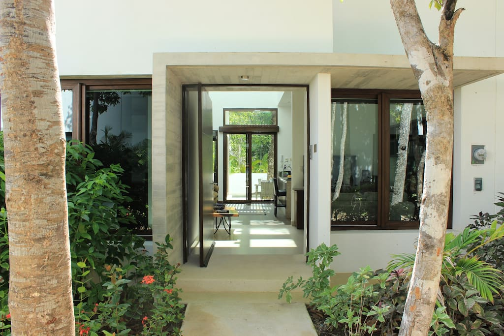 Entrance to Beautiful Townhome