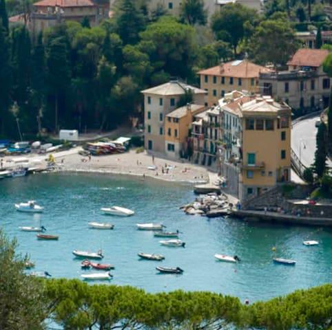 Sulla spiaggia di San Michele di Pagana - Santa Margherita Ligure - Apartament