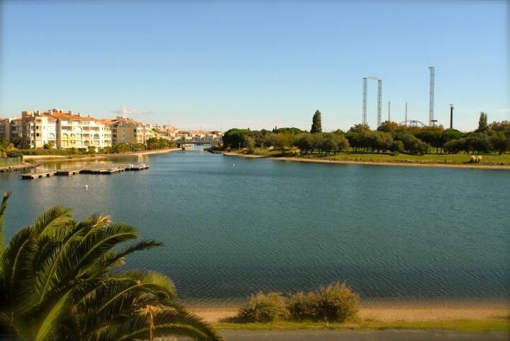 Cap d'Agde, Richelieu T3, Vue lagon, Piscine, Pkg