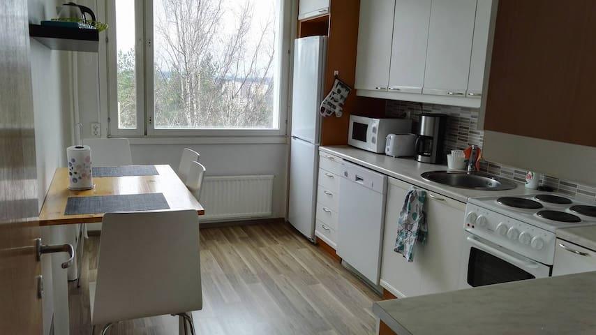 Kaksio lähellä keskustaa - Lahti - Apartamento