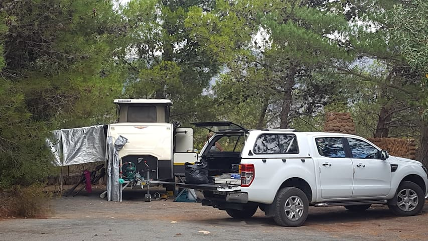 Caravan/ tent Site 1