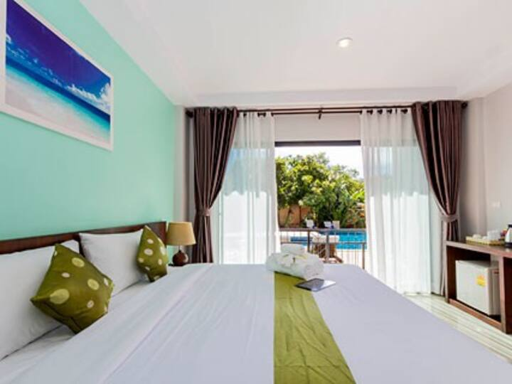 Refreshing poolside room in Ao Nang