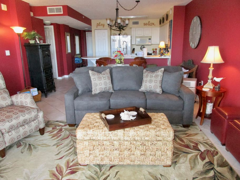 Open Living Area - your home away from home...