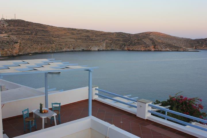 SYROS//Kirki House..comfortable with stunning view