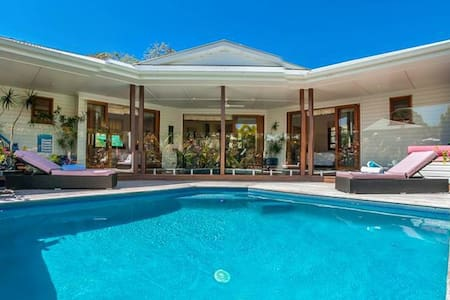 Villa 14 luxury private 3 bedroom pool Villa Byron - Byron Bay