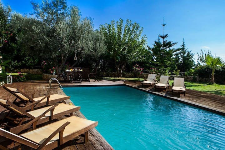 Incredible Hideaway Holiday Villa Rania - Skala - Vila