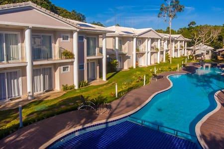 Apart-hotel novo, Arraial d'Ajuda, Alto da Pitinga