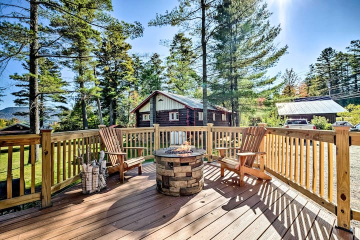 NEW! Cozy Speculator Cottage ~2 Mi to Ski Resort!