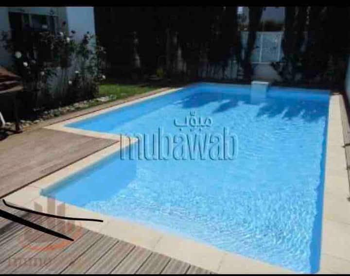 Villa Casablanca avec Piscine 10m