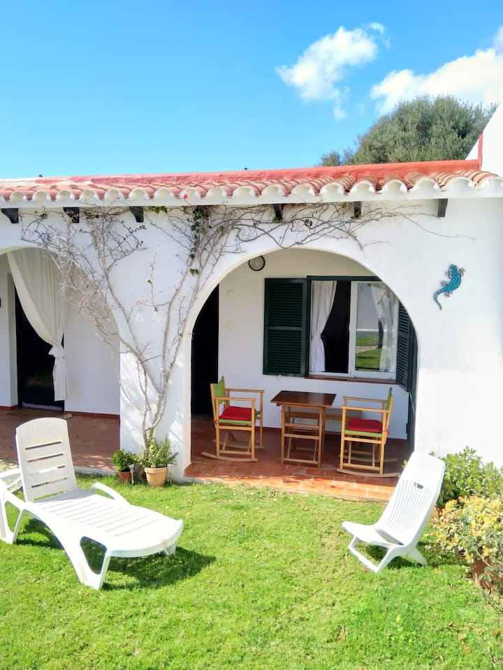 Apartment in front of Es Caló Blanc