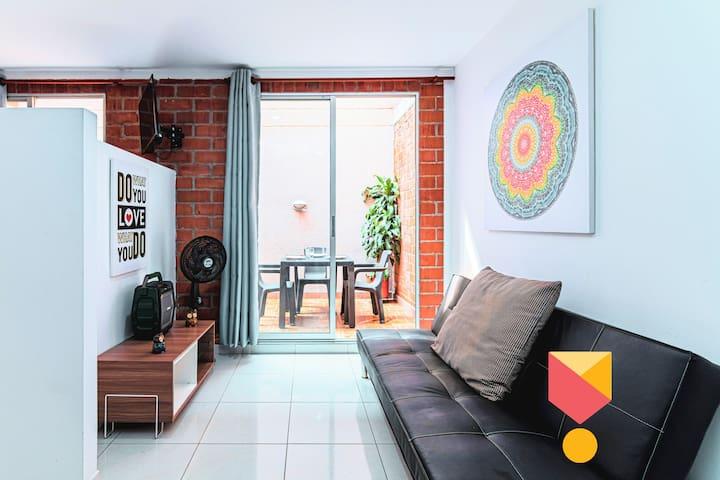 Cozy Apartment! Chipichape Mall Walking Distance