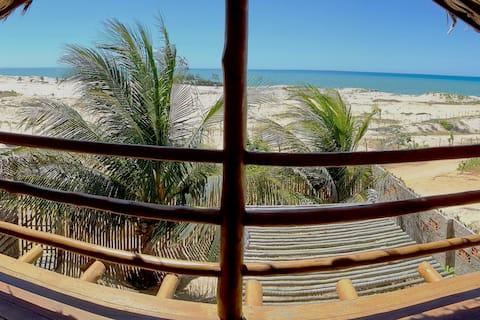 Kabana Jaci🌜ocean view 200m beach Canoa Quebrada