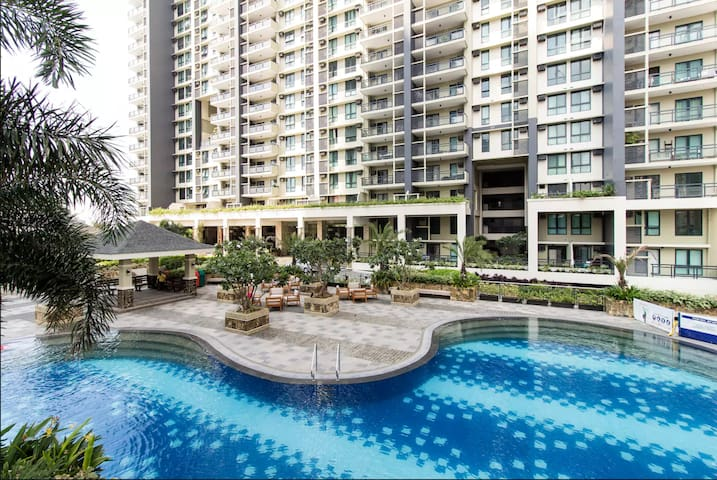 2 Bedrooms - Cozy and Family Friendly Flair Tower! - Mandaluyong - Huoneisto