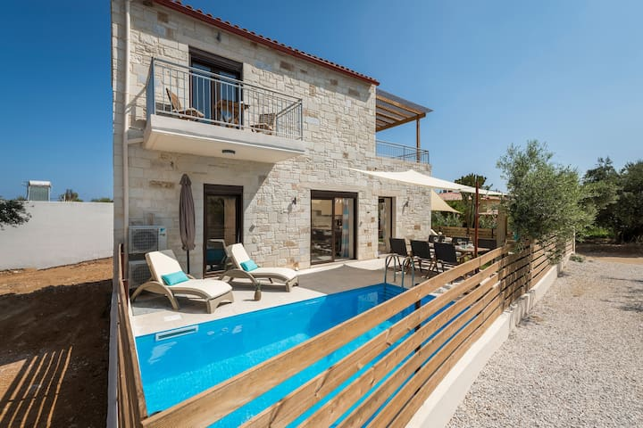 Villa Rebecca Agia Marina , Private pool, Sea View