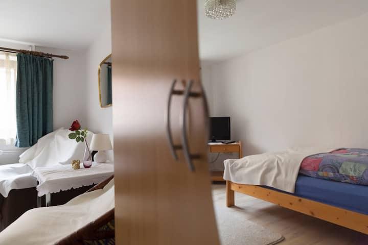 Zimmer in schöner ruhiger Lage