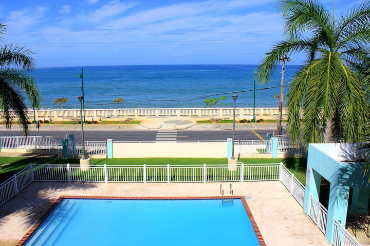 Vistamar Oceanfront Mini Penthouse - Aguadilla