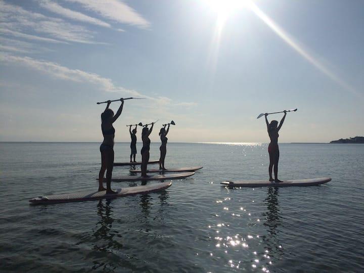 Paddle surf y Pilates