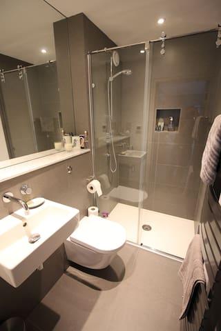 Ensuite shower room & WC.