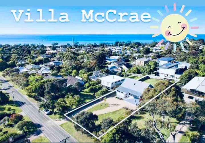 Stroll McCrae Beach, Sleeps 10, views, renovated