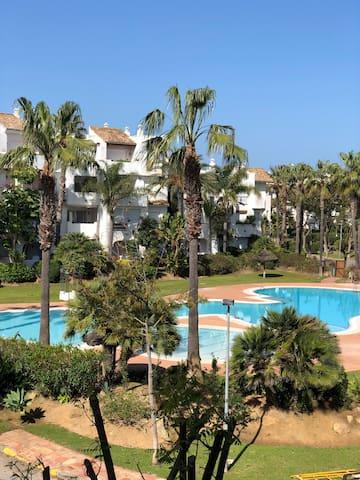 Apto. con encanto a pie de playa - Costa Ballena