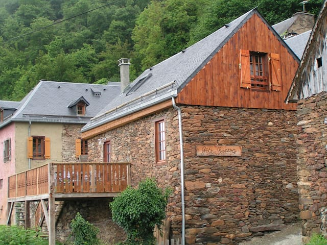 Gite Pyrénées proche Luchon vue imprenable(5 pers) - Cazaux-Layrisse - Přírodní / eko chata