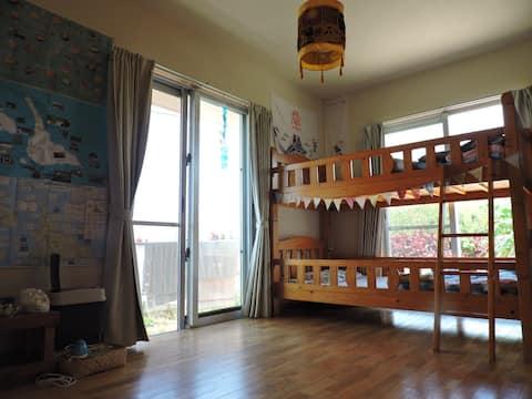 来間島のヨーコさんの家に泊まる・暮らすように旅をしたいなら・農家民泊ごうらやーでファームステイ