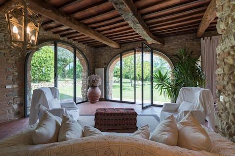 Luksusvilla i hjertet av Chianti