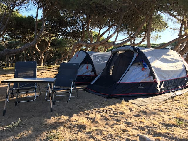 2-person Set of Camping Gear (Budget) - Drenthe