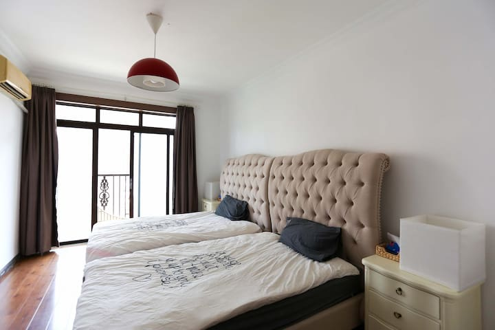 Bright Twin Room near Tianzifang - Shanghai - Huoneisto