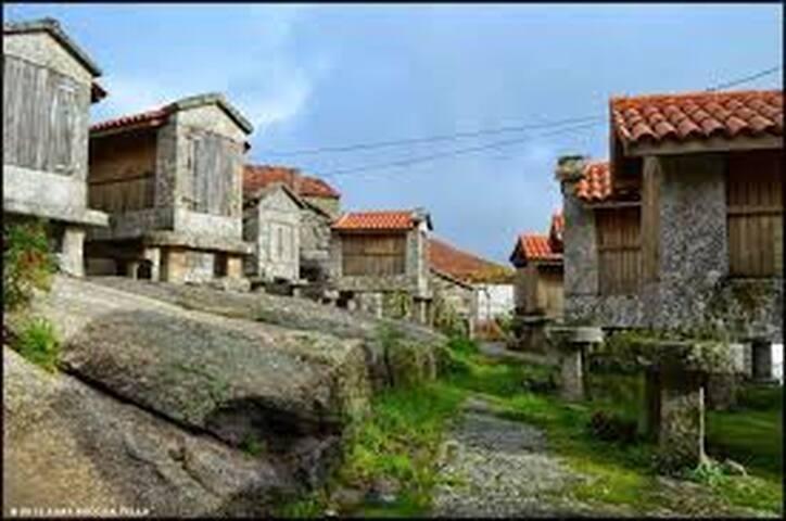 Refugio en el rural gallego
