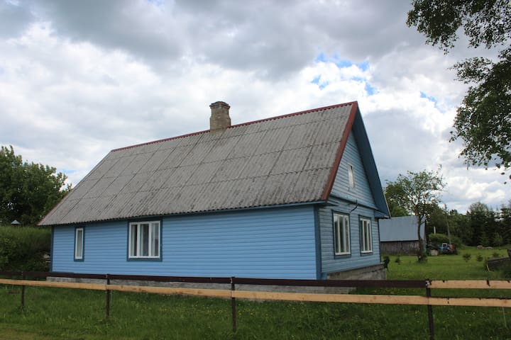 Деревенский дом для отдыха на природе