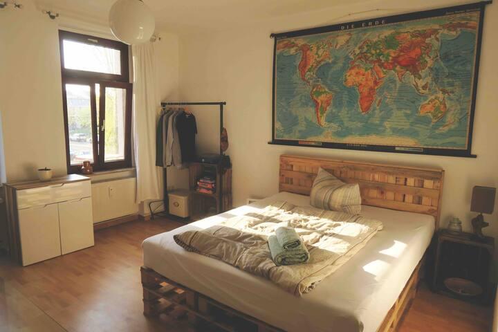 2-Zimmer Wohnung mit Balkon / Clara-Park / 64m²