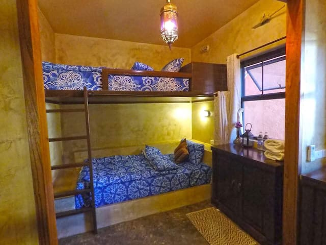 Loft beds for 4 persons, Pai center