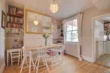 Dining Room. Adult or children's chairs available on request.